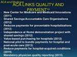aca links quality and payment 18