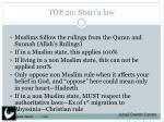 top 20 shari a law1