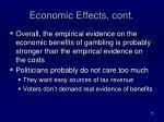 economic effects cont1