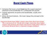 bond cash flows