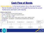 cash flow of bonds