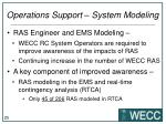 operations support system modeling1