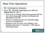 real time operations