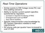 real time operations1