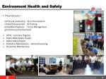 environment health and safety