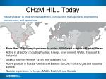 ch2m hill today