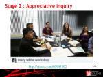 stage 2 appreciative inquiry