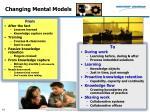 changing mental models
