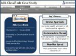 aol classifieds case study