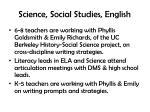 science social studies english