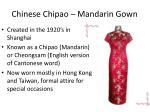 chinese chipao mandarin gown