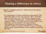 making a difference in africa18