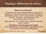 making a difference in africa27