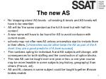 the new as