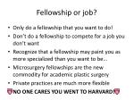 fellowship or job1
