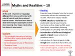 myths and realities 10