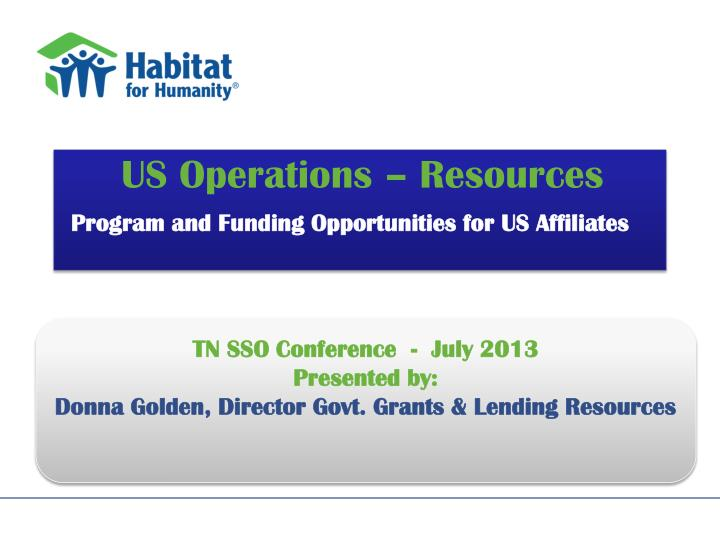 us operations resources program and funding opportunities for us affiliates n.