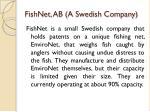 fishnet ab a swedish company