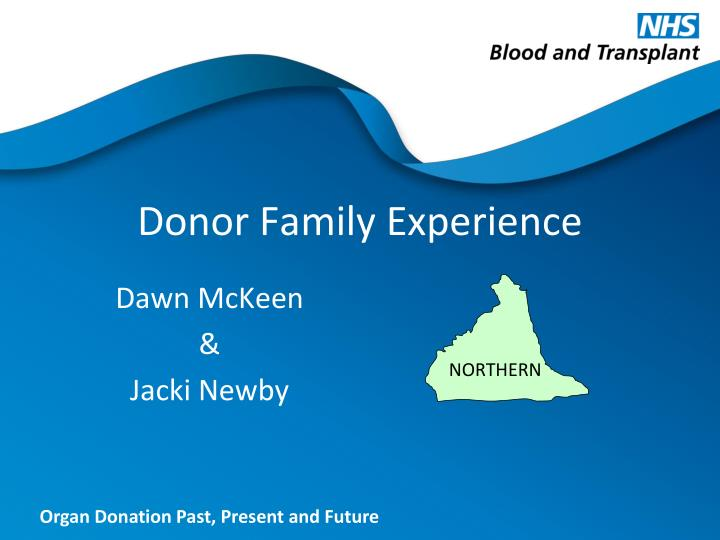 donor family experience n.