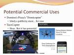 potential commercial uses
