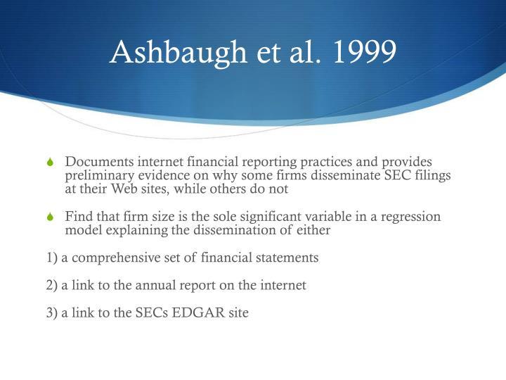 Ashbaugh et al. 1999