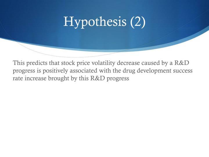 Hypothesis (2)
