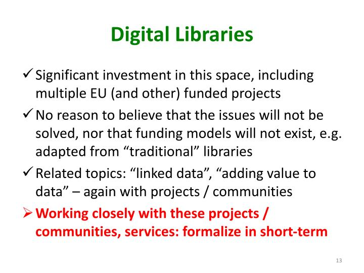 Digital Libraries