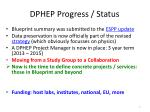dphep progress status