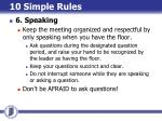 10 simple rules11