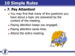 10 simple rules12