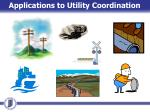 applications to utility coordination