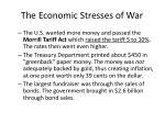 the economic stresses of war
