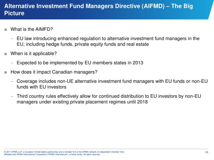 What is the AIMFD?