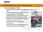 books program overview education series