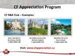 cf appreciation program2