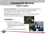 commercial services canex natex1
