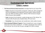 commercial services canex natex2