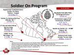 soldier on program
