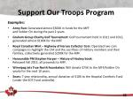 support our troops program1