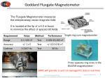goddard fluxgate magnetometer