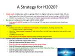 a strategy for h2020