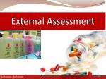 external assessment
