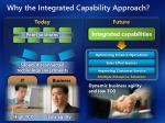 why the integrated capability approach