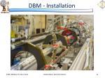 dbm installation