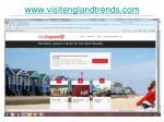 www visitenglandtrends com