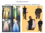 the evolution of fashion renaissance elaborate fitted bodice full skirt dress ruffs full collars