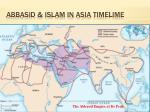 abbasid islam in asia timelime1