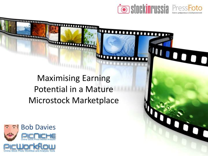 maximising earning potential in a mature microstock marketplace n.