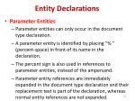 entity declarations4