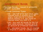 government bonds2